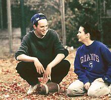 Monica and Chandler by CuddlyTeddy