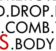 Salsa Dancing - Typographic Tee Shirt - Latin Dance - Salsa Dance Sticker