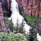 Clear Creek Falls, Colorado, USA by Adrian Paul