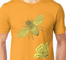 Bee & Flower Unisex T-Shirt