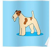 Gerald the Fox Terrier Poster
