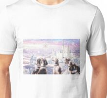 First snow for the welshies Unisex T-Shirt