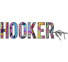 (Crochet) Hooker Photographic Print
