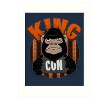 King Con Art Print