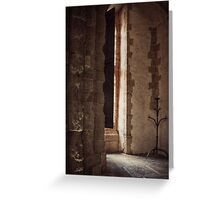 Someone at the Door? Greeting Card