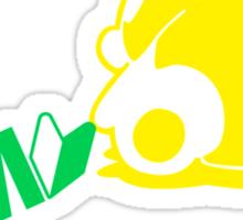 Sleepy Panda JDM (3) Sticker