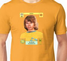 Bjorn Ulvaeus from Abba retro football team design!~ Unisex T-Shirt
