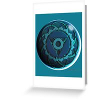 Throat Chakra Solo Greeting Card
