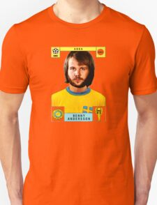 Benny Andersson from Abba retro football team design!~ Unisex T-Shirt