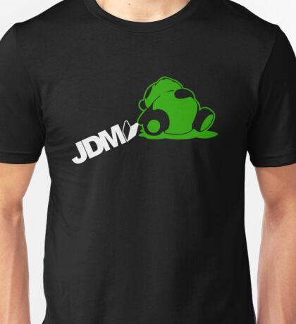 Sleepy Panda JDM (4) Unisex T-Shirt