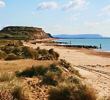 Hengistbury Head by RedHillDigital