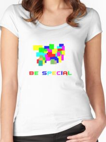 Be special Women's Fitted Scoop T-Shirt