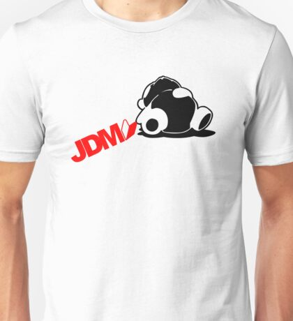 Sleepy Panda JDM (5) Unisex T-Shirt