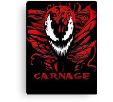 Carnage Primed Canvas Print