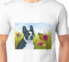 Dog 134 Boston Terrier Unisex T-Shirt