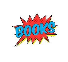 Books! Photographic Print