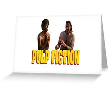 Pul Fiction Nothing Greeting Card