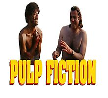 Pul Fiction Nothing Photographic Print