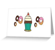 Donuts and Cupcakes Greeting Card