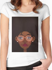 Amina Women's Fitted Scoop T-Shirt