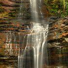 Empress Falls cascades. by Kevin McGennan