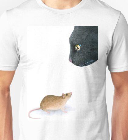 Cat 604 Mouse Unisex T-Shirt