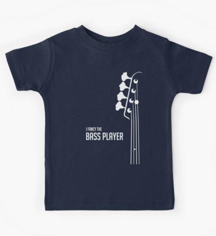 I Fancy the Bass Player Tee - Bass Guitarist - Bassist Kids Tee
