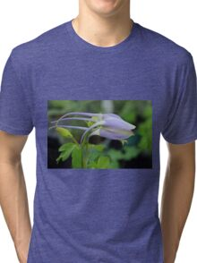 Remembering Elizabeth Shae and Periwinkle Blue Tri-blend T-Shirt