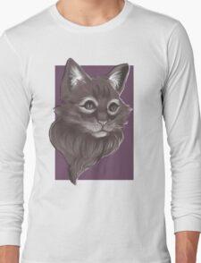 Little Miss Pretty Kitty Long Sleeve T-Shirt