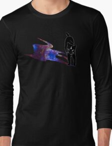 Meowster of the Universe Long Sleeve T-Shirt