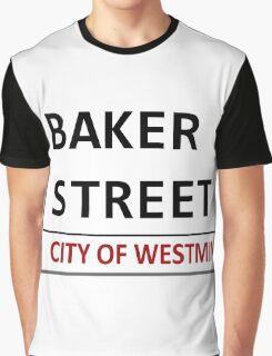 Baker Street Sign Graphic T-Shirt