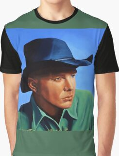 Garth Brooks painting Graphic T-Shirt