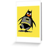 Penguin of Mystery Greeting Card