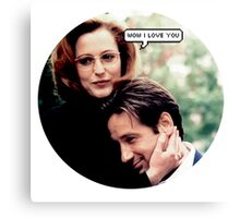 "Gillovny - ""Wow I love you"" Canvas Print"