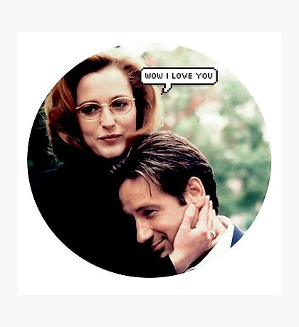 "Gillovny - ""Wow I love you"" Photographic Print"