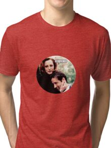 """Gillovny - """"Wow I love you"""" Tri-blend T-Shirt"""