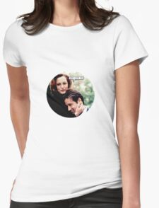 "Gillovny - ""Wow I love you"" Womens Fitted T-Shirt"