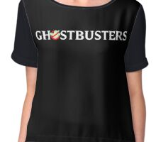 Ghostbusters 2016 Logo 2 Chiffon Top