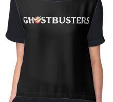 Ghostbusters 2016 Logo 2 Chiffon Top