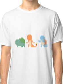 Kanto starters 2.0 Classic T-Shirt