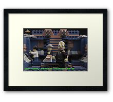 Homerland - In the War Room Framed Print