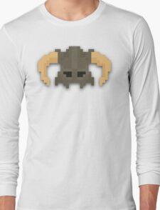 Dovakhiin 8bit Long Sleeve T-Shirt