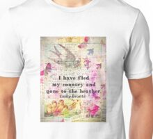 Whimsical cute  Emily Bronte quote - Wuthering Heights Unisex T-Shirt