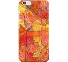Abstract Shapes Over Daisies: Maps & Apps Series iPhone Case/Skin