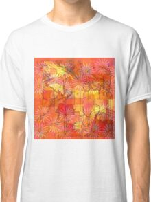 Abstract Shapes Over Daisies: Maps & Apps Series Classic T-Shirt