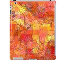 Abstract Shapes Over Daisies: Maps & Apps Series iPad Case/Skin
