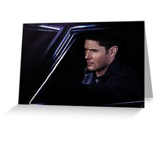Dean and Baby Greeting Card