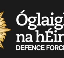 Irish defence forces logo Sticker