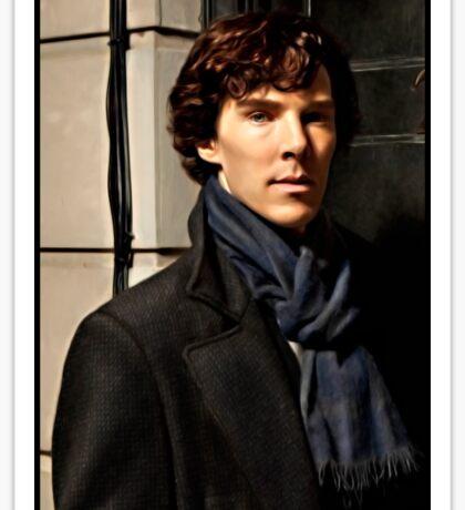 Sherlock at 221B Sticker