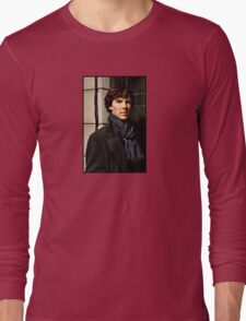 Sherlock at 221B Long Sleeve T-Shirt